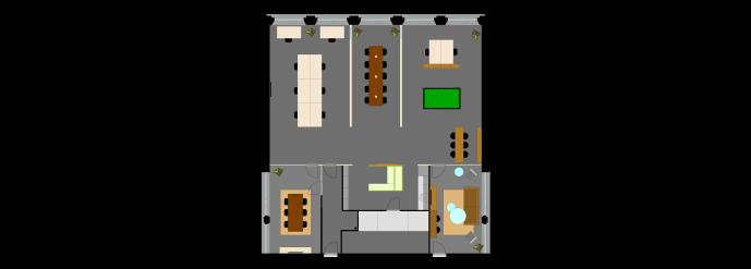 Slash2 ingerichte plattegrond